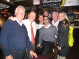 Some of Christie's Great Estates' Affiliates at Cheers